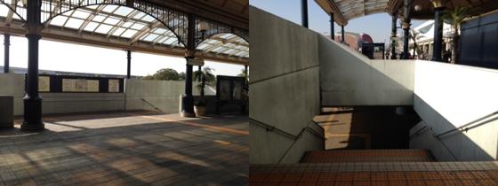 舞浜駅からバス乗り場までのルート(1)