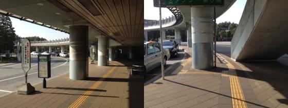 舞浜駅からバス乗り場までのルート(2)