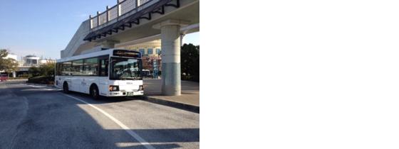 舞浜駅からバス乗り場までのルート(3)