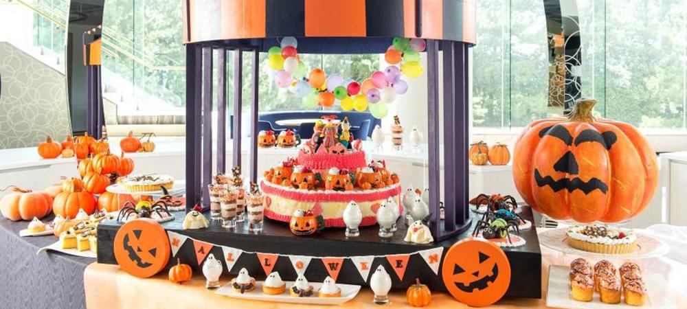 「ハロウィーン・サーカス・パレード」  いたずら好きなハロウィーンサーカス団がデザートブッフェをジャック